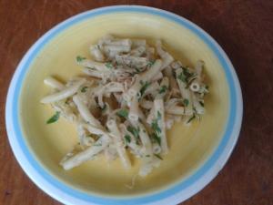 Sauerkraut-pesto & maccheroni