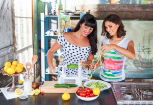 the Hemsley + Hemsley spiralizer