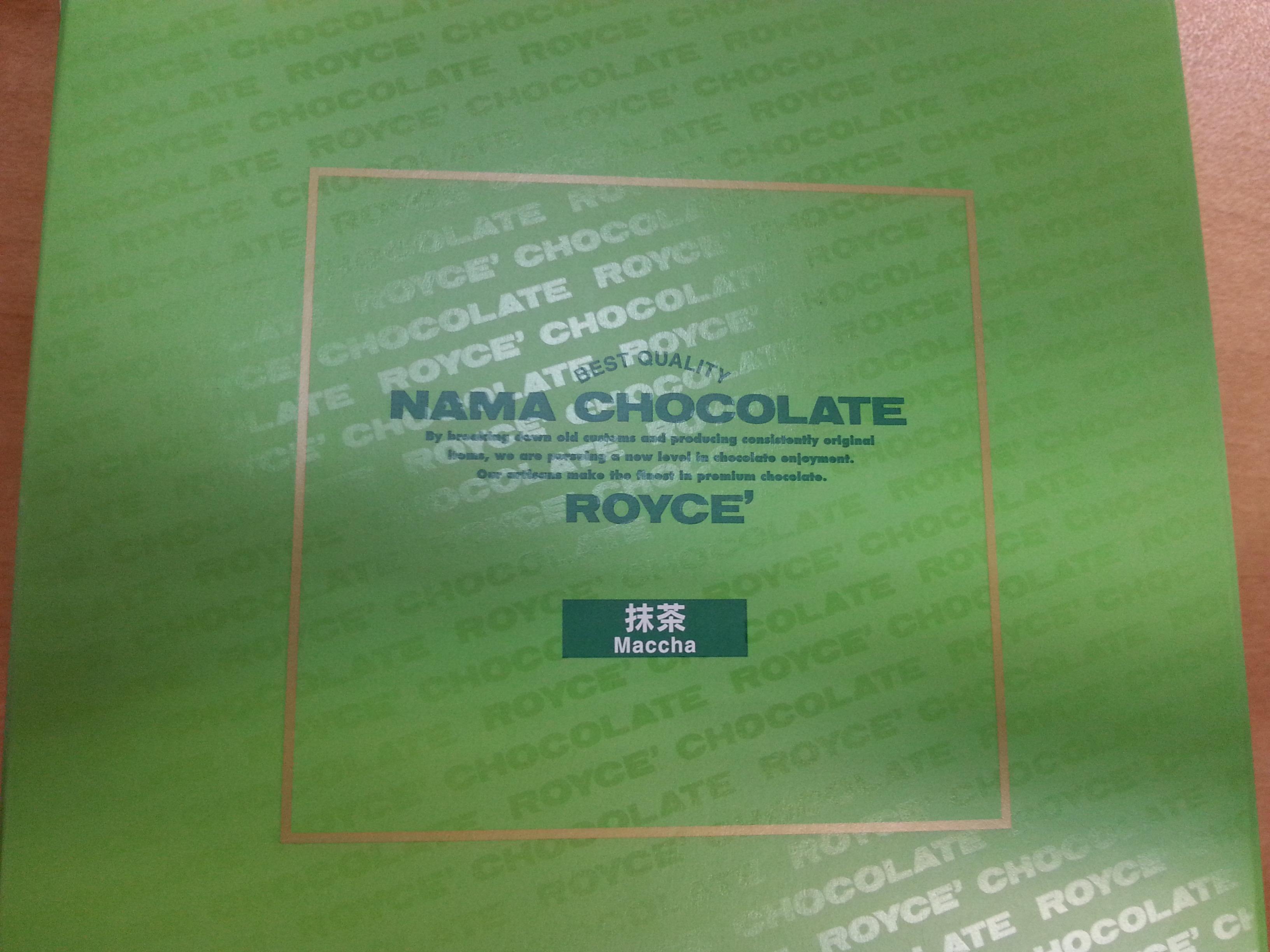 Japan Royce' Chocolates  