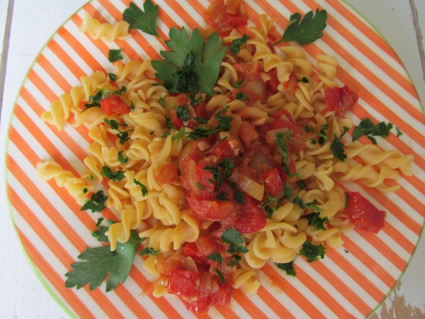 Red Lentils Pasta